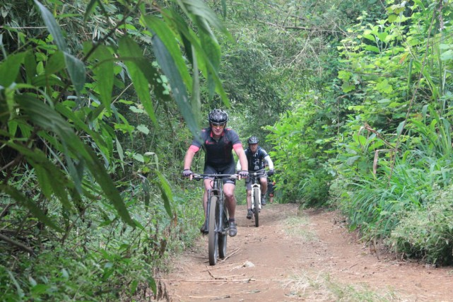 Reunion offers a huge variety of terrain to explore on your mountain bike.